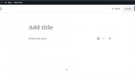 new Wordpress version